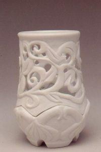 carved lantern